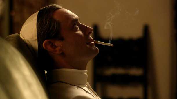 "Jude Law als Lenny Belardo alias Papst Pius XIII. in ""The Young Pope""."