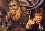 Rebellen im Imperium: Chewbacca und Harrison Ford