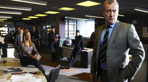 DCI Alan Banks (Stephen Tompkinson).