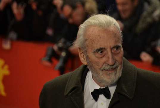 "Der ""Dracula"" vom Dienst: Horror-Mime Christopher Lee."