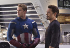 Superhelden beraten sich: Chris Evans und Robert Downey jr.