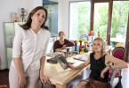 Drei Frauen müssen etwas ändern: Martina Gedeck, Johanna Gastdorf &    Leslie Malton (v.l.n.r.)
