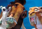 Freunde in der Not? Faultier Sid, Mammut Manfred und Säbelzahntiger Diego.