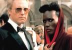 Wenn wir Roger Moore jetzt umnieten, kann er keinen  Bond mehr spielen! Christopher Walken und Grace  Jones