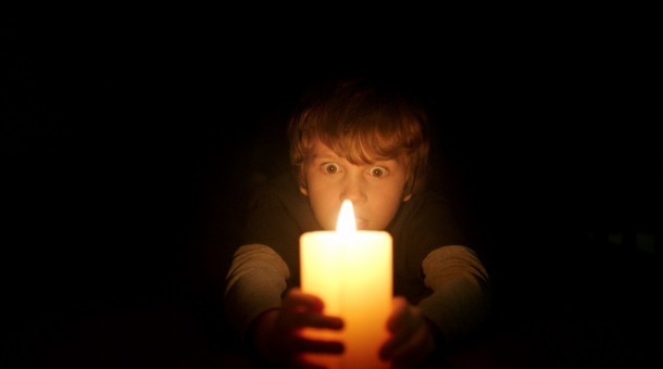 "GABRIEL BATEMAN as Martin in New Line Cinema's horror film ""LIGHTS OUT,"" a Warner Bros. Pictures release."
