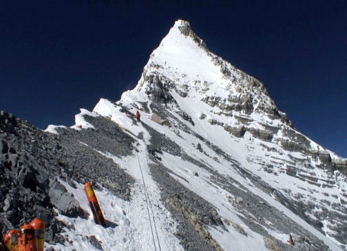 Todeszone Mount Everest - hier starb Thomas W.