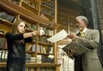 Fox (Angelina Jolie) scheint nicht viel von Sloan (Morgan Freeman) zu halten ...