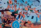 Hier kann man es sich richtig gut gehen lassen! Asterix und Obelix feiern mal wieder