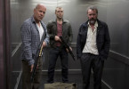 Zu dritt unterwegs: Bruce Willis, Jai Courtney und Sebastian Koch (v.l.)