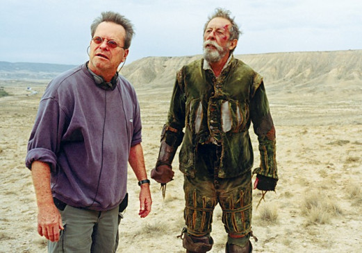 Regisseur & Mime: Terry Gilliam (l.) und Jean
