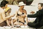 Wen lieb' ich denn nun? Romy Schneider zwischen Sami Frey (l.) und Yves Montand