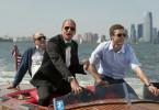 Unterwegs auf dem Hudson River: Woody Harrelson (l.) und Justin Timberlake