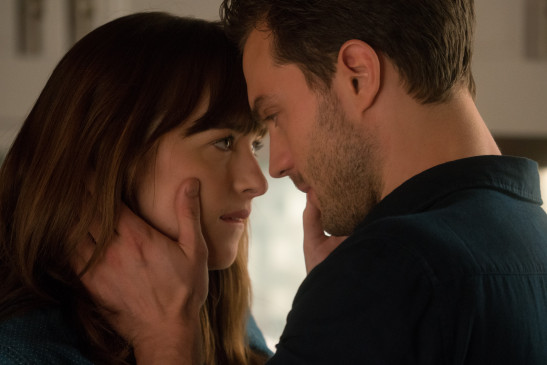 Anastasia Steele (Dakota Johnson) und Christian Grey (Jamie Dornan).