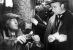 Was denn, Watson? Hans Albers (l.) und Heinz  Rühmann