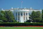 Das Machtzentrum der amerikanischen Politik: Das Weiße Haus in Washington DC.