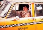 New York ist schon eine beschissene Stadt - Robert De Niro und sein Taxi.