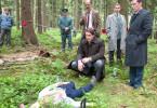 Und noch eine Leiche: Heinz Gödicke (Ronald Zehrfeld) am Fundort