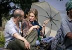 Einsfestival MONSOON BABY, am Samstag (20.09.14) um 20:15 Uhr.  Mark (Robert Kuchenbuch) und Nina (Julia Jentsch) in der Hitze Indiens.