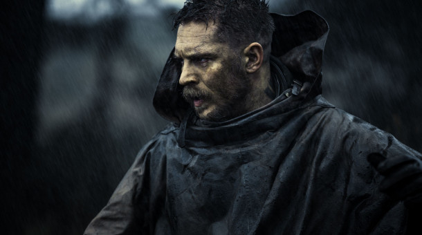 "Tom Hardy als James Delaney in der Dramaserie ""Taboo""."