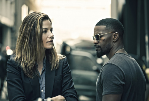 Jennifer Bryant (Michelle Monaghan) und Vincent Downs (Jamie Foxx) haben Differenzen.