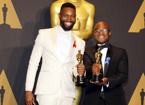 "<b>Bestes adaptiertes Drehbuch</b>: Barry Jenkins und Tarell Alvin McCraney (""Moonlight"")."