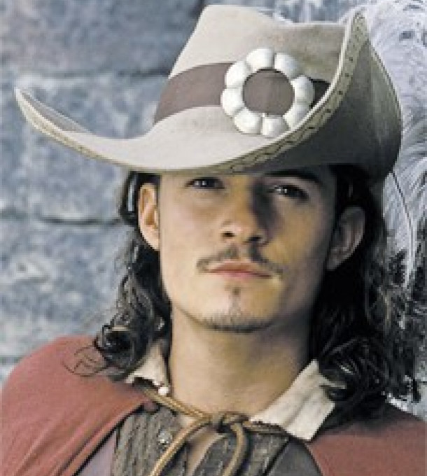 Orlando Bloom: spielt den Piraten Will Turner