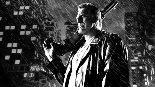 "Mickey Rourke als Marv in ""Sin City 2 - A Dame To Kill For""."