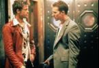 Und, sollen wir uns draußen prügeln? Edward Norton (r.) und Brad Pitt