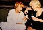 Na, ein wenig Spaß unter Frauen? Jack Lemmon (l.) und Marilyn Monroe