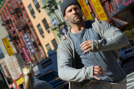 On the run: Jason Statham