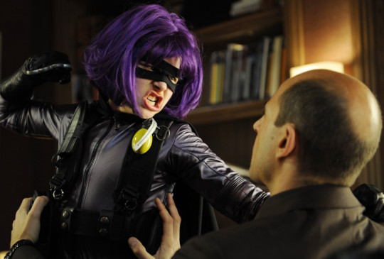 Jetzt gibt's was auf's Maul! Hit Girl (Chloë Grace