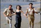 Auf der Flucht vor der Mumie: Brendan Fraser,  Rachel Weisz und John Hannah (v.r.)