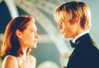Ein Tänzchen gefällig? Brad Pitt und Claire  Forlani