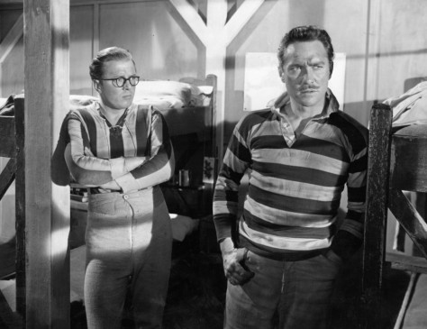 Richard Attenborough und Richard Todd (r.) planen