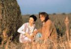 Komm lass' uns nach Westen reiten und die Sonne putzen: Johnny Depp und Juliette Lewis.