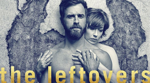 "Justin Theroux und Carrie Coon in ""The Leftovers""."