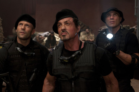 "Sylvester Stallone als Barney Ross in ""The Expendables 3""."