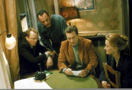 Noch sind sie Verbündete (v.l.:) Gregor (Stellan Skarsgård), Vincent (Jean Reno), Sam (Robert De Niro) und ihre Anführerin Deidre (Natascha McElhone).