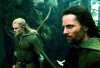 Beeilung, der König kommt! Orlando Bloom (l.) und Viggo Mortensen