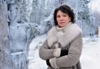 Noch friert sie in Schweden: Iris Berben als Louise Cantor