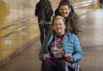 Jürgen (Heinz Strunk, h) und Bernd (Charly Hübner) steuern auf ein Abenteuer in Polen zu.