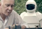 Der einstige Juwelendieb Frank (Frank Langella) plant mit seinem klugen Pflegeroboter neue Raubzüge.
