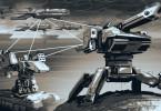 Das Schlachtfeld der Zukunft - Roboter überall.
