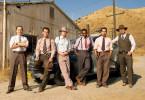 Sie sollen Gangsterboss Mickey Cohn das Handwerk legen (v.l.n.r. Giovanni Ribisi, Josh Brolin, Ryan Gosling, Anthony Mackie, Michael Peña und Robert Patrick).