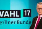 """Das Erste informiert in der """"Beliner Runde"""" ausführlich über die Bundestagswahl 2017."""