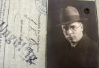 Georg Ferdinand Duckwitz als Mitarbeiter einer Bremer Kaffeefirma 1932.