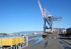 """Der kalabrische Hafen Gioia Tauro wird auch das """"""""Müllzentrum"""" Europas"""" genannt."""