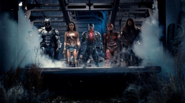 Nach Supermans Tod will nun die Justice League die Menschheit beschützen. Von links: Batman (Ben Affleck), Wonder Woman (Gal Gadot), Cyborg (Ray Fisher), The Flash (Ezra Miller) und Aquaman (Jason Momoa).