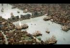 So müsste London nach diesem Modell im Jahr 1650 ausgesehen haben.