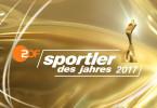 """Logo """"Sportler des Jahres 2017""""."""